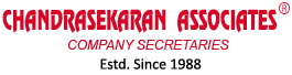 CHANDRASEKARAN ASSOCIATES - COMPANY SECRETARIES